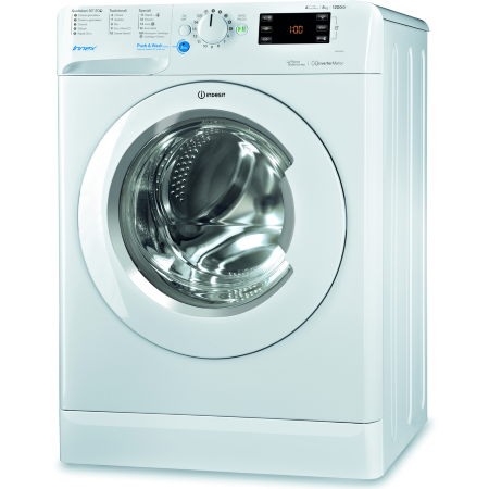 Indesit Lavatrice a carica frontale - BWE 81284 X WWGG