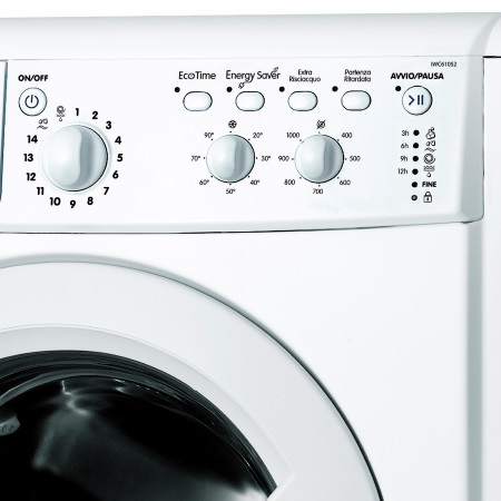 Indesit Lavatrice a carica frontale - Iwc 61052 C Eco It