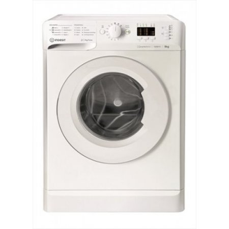 Indesit Lavatrice carica frontale 9 kg. - Mtwa91283wit