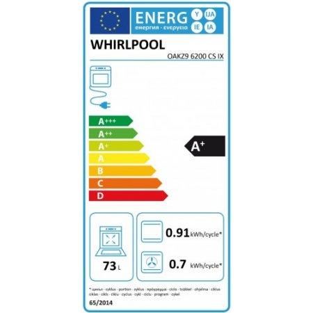Whirlpool Forno elettrico 3650 w - Oakz9 6200 Cs Ix