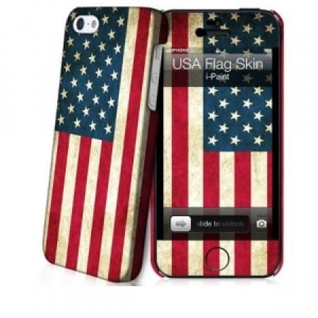I-PAINT - HARD CASE + SKIN USA FLAG 11-05-07