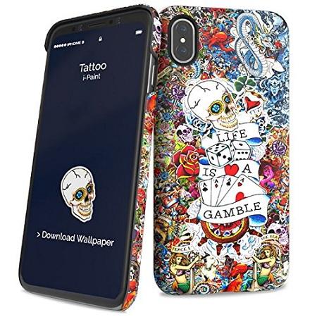 I Cover smartphone - paint - 860101 Multicolore
