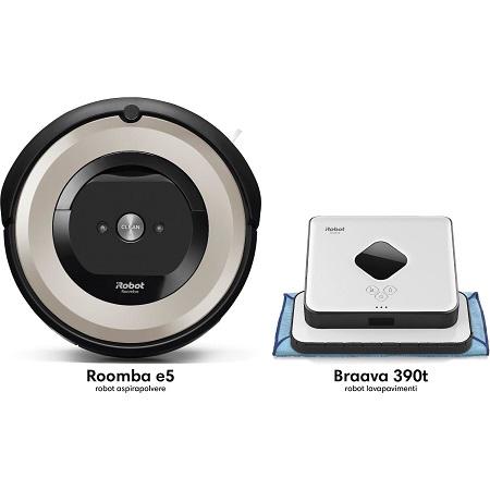 Irobot - Roomba E5+braava 390t