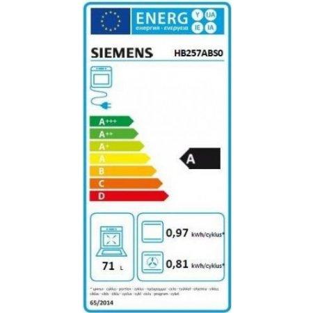 Siemens Forno elettrico 3600 w - Hb257abs0