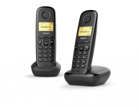 Gigaset Telefono cordless - A170 Duo Nero