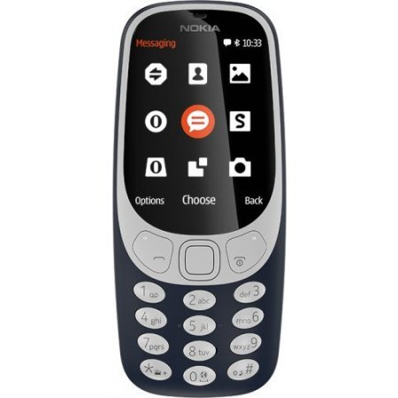 Nokia Cellulare Dualband - 3310 blu