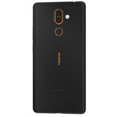 Nokia Smartphone 64 gb ram 4 gb quadband - 7plus Nero-rame
