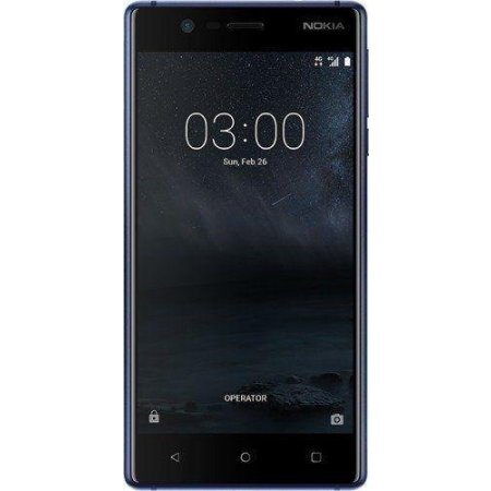 Nokia Smartphone 16 gb ram 2 gb quadband - 3 Single Sim Blu