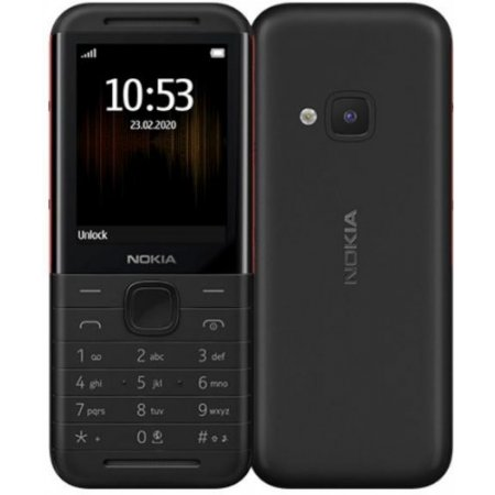 Nokia Cellulare dualband gsm - 5310n Nero-rosso