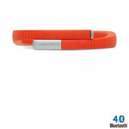 JAWBONE Braccialetto con Sistema UP: monitora il movimento e il sonno - UP24 ORANGE - SIZE MEDIUM