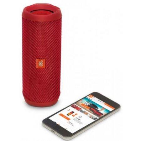 Jbl Speaker portatile 1 via - Flip4 Rosso