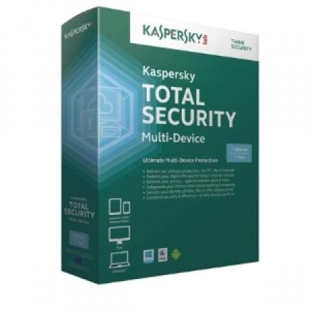 KASPERSKY Kaspersky Total Security Multi-Device - TOTAL SECURITY 1 UTENTE KL1919TBAFS