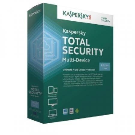 KASPERSKY Kaspersky Total Security Multi-Device - TOTAL SECURITY 3 UTENTI KL1919TBCFS