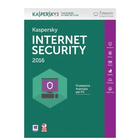 Kaspersky Licenza Internet Security 3 pc 1 anno - Internet Security 3 pc