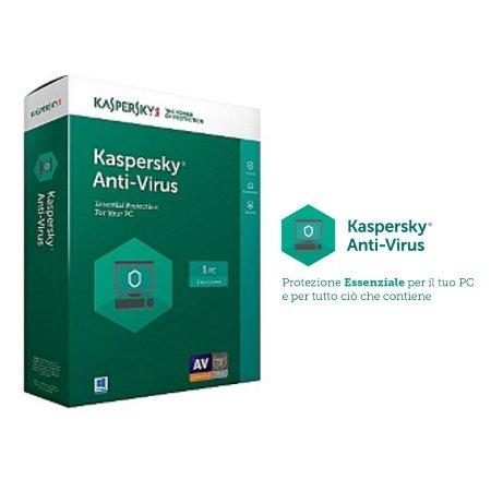 Kaspersky Licenza Antivirus 1 PC - Kl1171tbafs