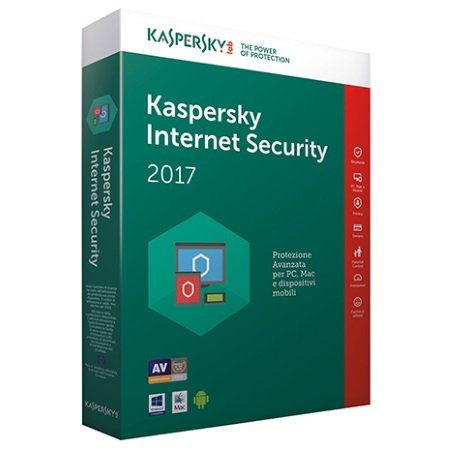 Kaspersky Licenza Internet Security 1 Dispositivo 1 anno - Internet Security 2017 - 1 Dispositivo