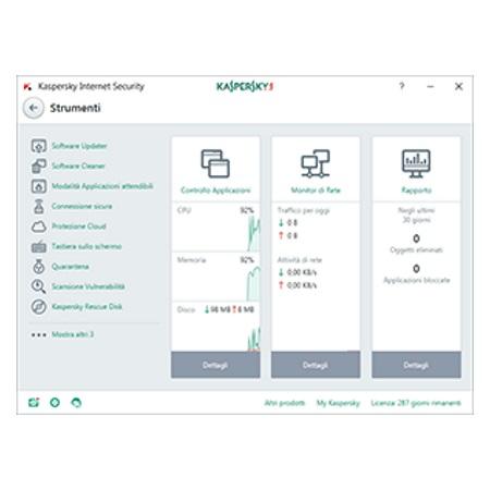 Kaspersky Licenza Internet Security 1 Dispositivo 1 anno - Internet Security 2017 - 1 Dispositivo