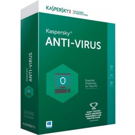Kaspersky Softwareantivirus 2018box - Kl1171t5afs8slim