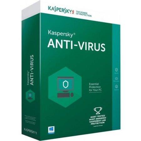 Kaspersky Software antivirus 2018 box - Kl1171t5cfs8slim