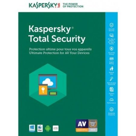 Kaspersky - Total Security Multi-Device 2018