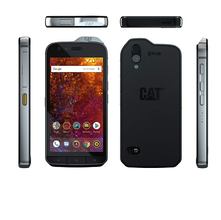Cat Smartphone 64 gb ram 4 gb dualband - S61