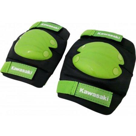 Kawasaki Kit ginocchiere + gomitiere - Kskitguardsm1grn