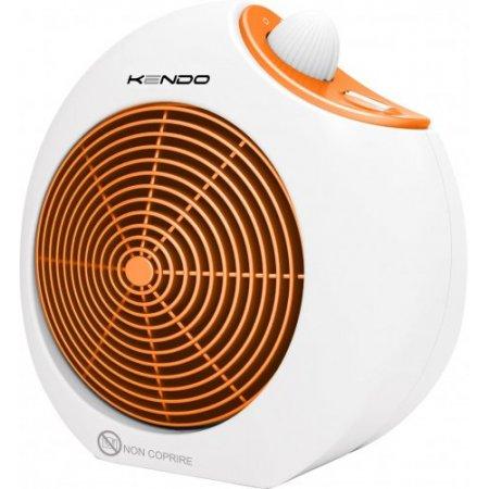 Kendo Termoventilatore 2000w - Yoyo Bianco-arancione