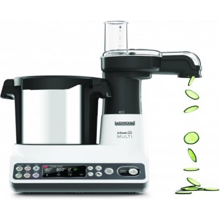 Kenwood Cooking robot 1500 w - Ccl401 Cook Mult Bianco-nero