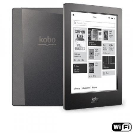"KOBO Display E-Ink touch da 6.8"" (1430 x 1080 px) - AURA H2O BLACK"