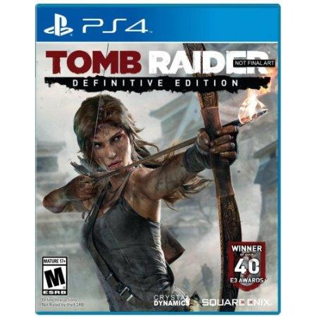 Deep Silver Gioco adatto modello ps 4 - Ps4 Tomb Raider: Definitive Edition