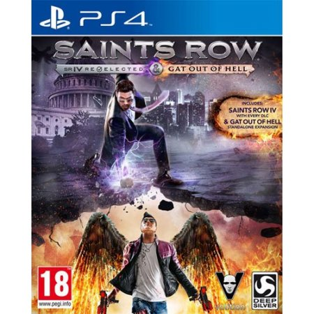 Deep Silver Gioco - Ps4 Saints Row Iv Re-elected-gat Out Of The Hell 1007623