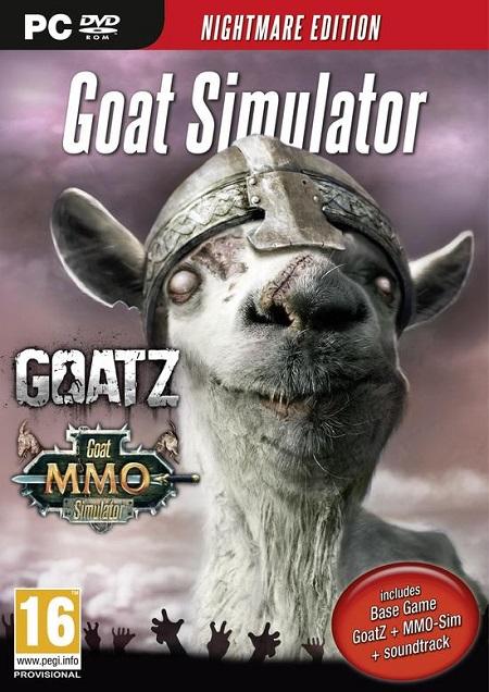 Koch Media Goat Simulator Goat Simulator - Nightmare Edition - Nightmare Edition - 1010540