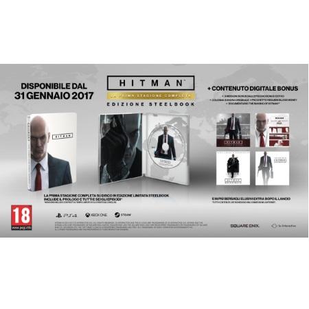 Koch Media Hitman Steelbook Edition - Hitman Steelbook Edition PS4