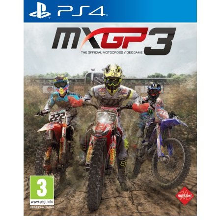 Koch Media - MXGP 3 The Official Motocross Videogame PS4