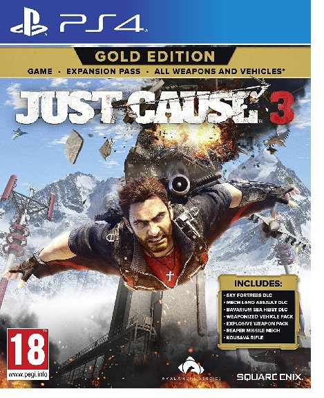 Koch Media  Just Cause 3 Gold Edition Just Cause 3 Gold Edition, PS4, IT - 1020864