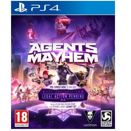 Koch Media Gioco Agents of Mayhem - Agents of Mayhem Day One Edition - 1016963