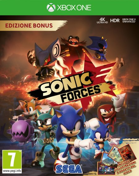 Microsoft Xbox One - Sonic Forces Bonus Ed.