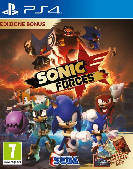 Koch Media  - Ps4 Sonic Forces Bonus Ed.