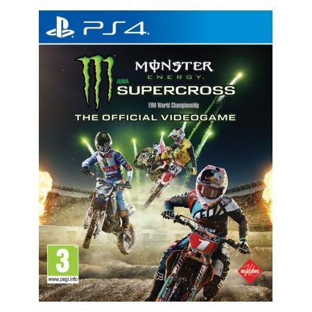 Koch Media Genere: Corse - Monster Energy Supercross The Official Videogame PS4