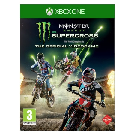 Koch Media Genere: Corse - Monster Energy Supercross The Official Videogame XBOX ONE