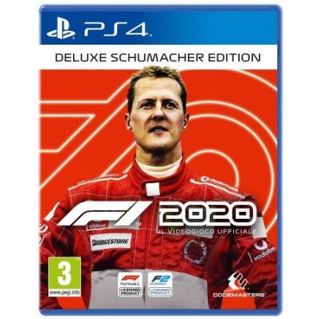 Deep Silver Gioco adatto modello ps 4 - Ps4 F1 2020 Deluxe Schumacher Ed