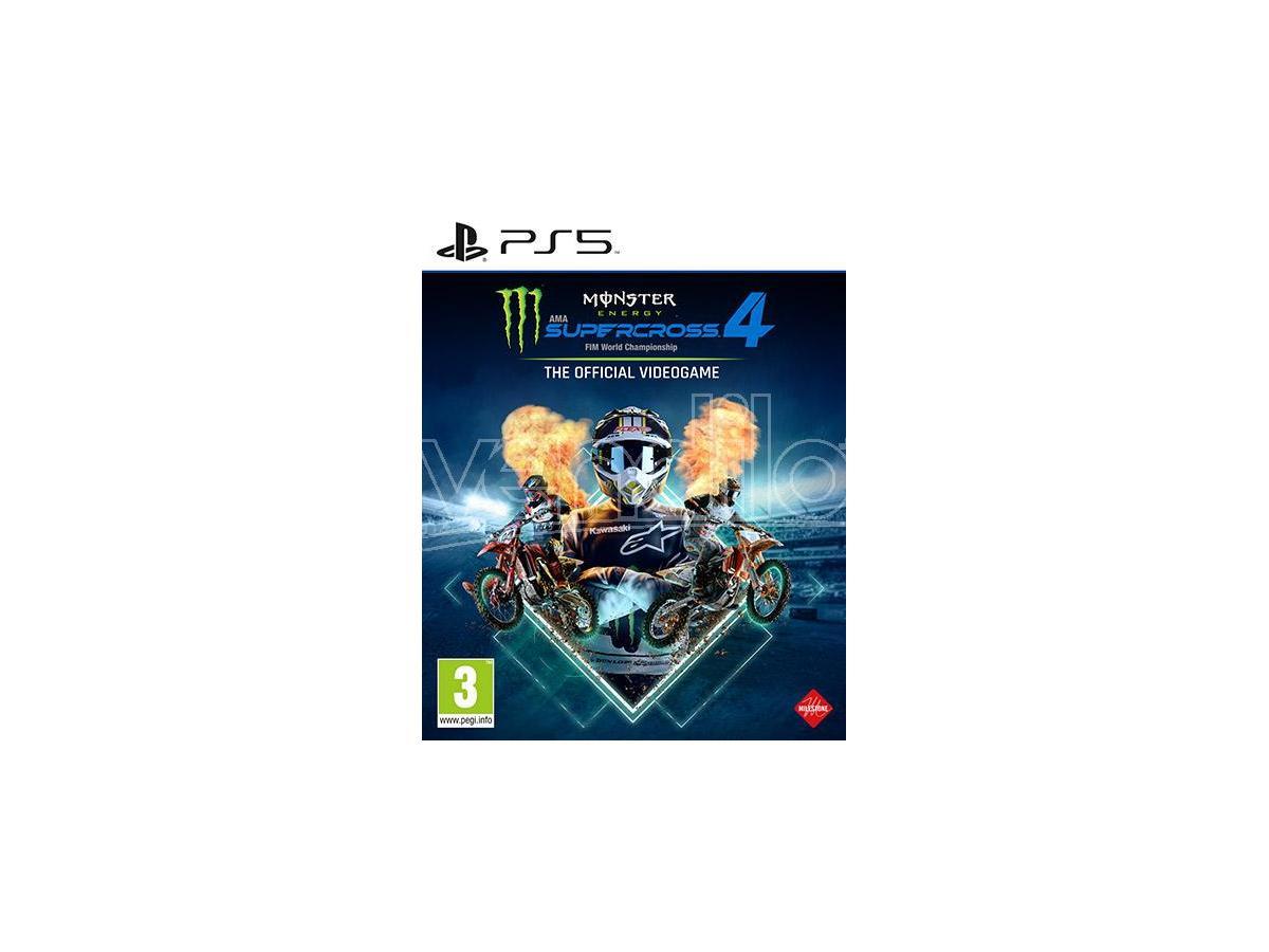 Monster Energy Supercross 4 Koch Media Gioco PS5 - 1062456