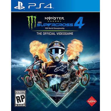 Monster Energy Supercross 4 Gioco PS4