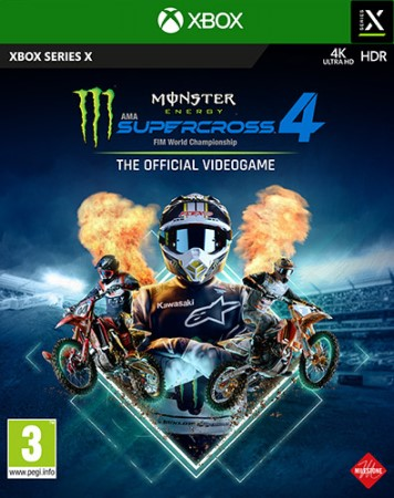 Monster Energy Supercross 4 Gioco Xbox Series X