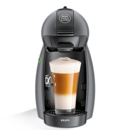 Krups Macchina caffè a capsule NESCAFÉ DOLCE GUSTO - Dolcegusto Piccolo Black Kp100bk