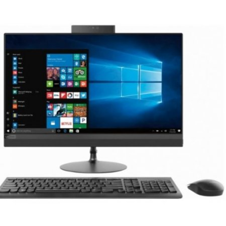 Lenovo Desktop all in one - Ideacentre 520-24ast F0d30013ix Alluminio-nero