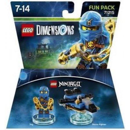 Warner Bros - 1000546249 Lego Ninjago Jay