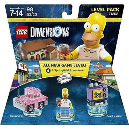Warner Bros - 1000546256 Lego Simpson