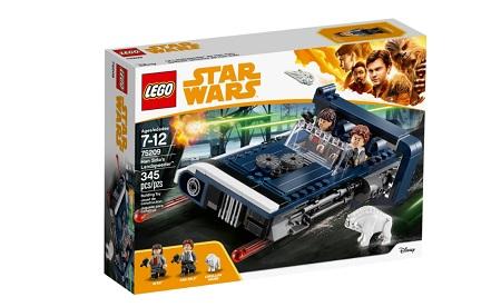 Il Landspeeder  di Han Solo LEGO - 75209