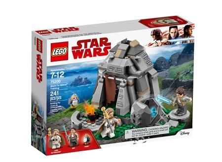 Addestramento ad Ahch-To Island Lego® - 75200